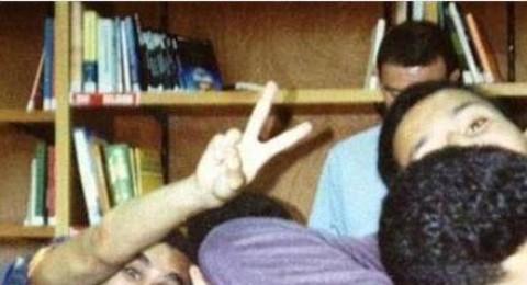 صورة نادرة لباسم يوسف في مرحلة المراهقة