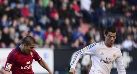 ريال مدريد يفرط بنقطتين هامتين بتعادله امام اوساسونا