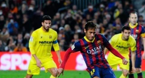 نيمار يقود برشلونة لانتصار صعب على فياريال