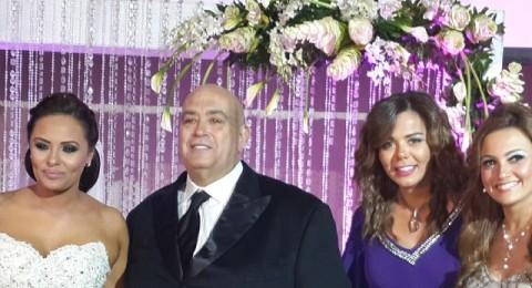 نجوم مصر في زفاف عماد الدين اديب والفنانة مروة حسين