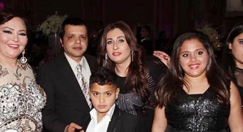 صور أبناء وزوجة محمد هنيدي تفاجئ الجمهور