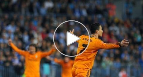 كريستيانو رونالدو يهدي ريال مدريد ثلاث نقاط ثمينة