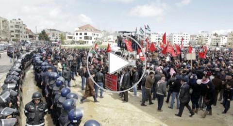 الأردن.. خروج مظاهرات تنديدا بمقتل زعيتر ومطالبة بطرد السفير الاسرائيلي من عمان