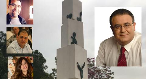 الطيرة: تشييد نصب تذكاري يستفز اليمين وعبد الحي يعقب: سنستمر بمشروع النصب