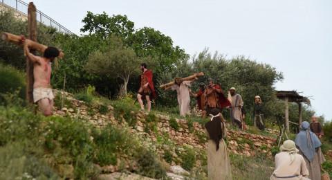 فرح القيامة والفصح في قرية الناصرة