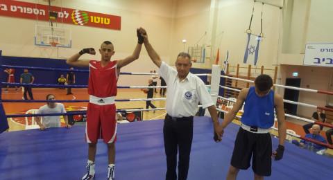 فريق نجوم الناصرة للملاكمة ومركز اولمبي يشارك في بطولة اسرائيل