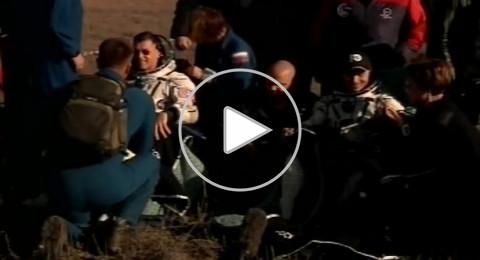 3 رواد فضاء يعودون إلى الأرض من المحطة الدولية