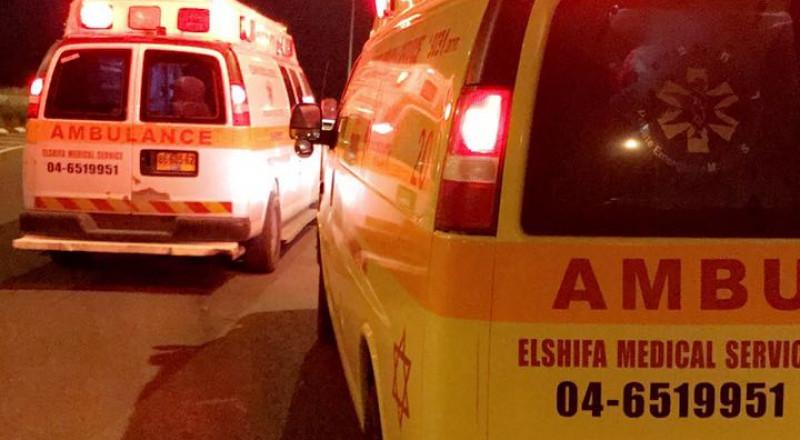 اصابة شاب من عرابة بعياراتٍ نارية مدخل دير حنا