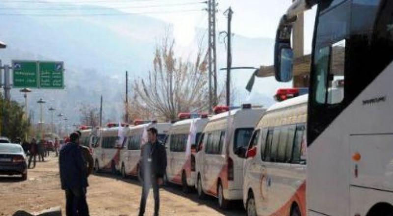 تنفيذ اتفاق كفريا والفوعة والزبداني ومضايا في سورية