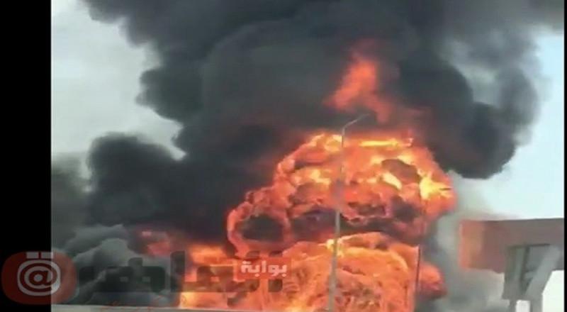 انفجار خط غاز في مصر