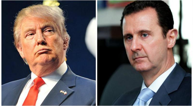 ترامب يهاجم الأسد ويصفه بالشخص الشرير والحيوان