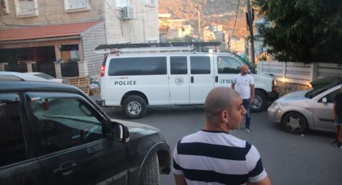 الشرطة تقتحم بيوت عزاء شهداء ام الفحم