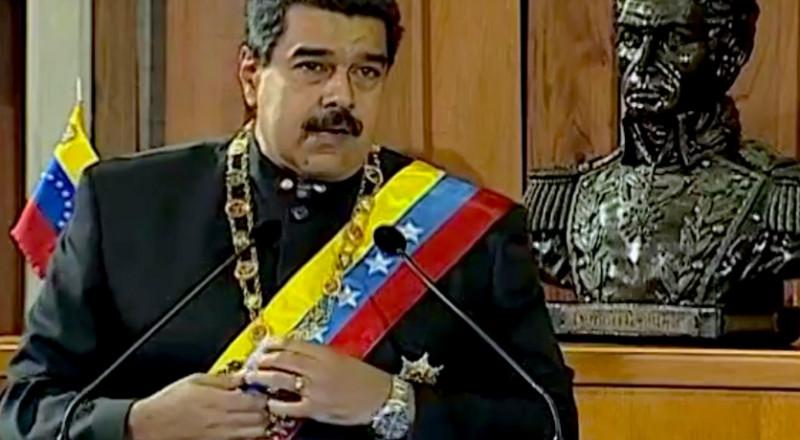 مادورو يشبه نفسه بصدام حسين