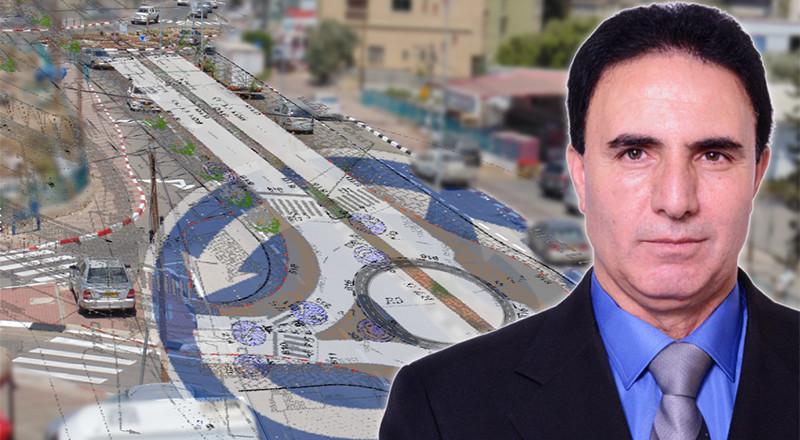 مجلس كفرمندا يستعد لبناء دوار جديد واعادة تخطيط الشارع الرئيسي هندسيا