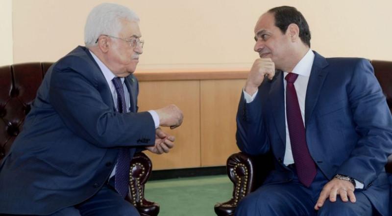 عباس والسيسي يلتقيان في القاهرة
