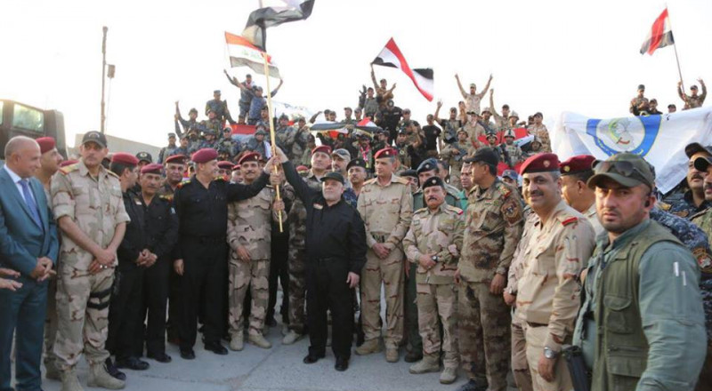العبادي يعلن تحرير الموصل بالكامل على يد القوات العراقية