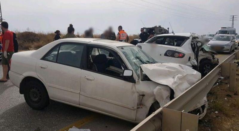 قتيلة وعدد من المصابين بحادث طرق مروّع قرب كفر قاسم