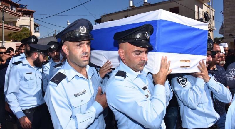 تشييع جثمان شنان وستاوي بحضور قيادة الشرطة