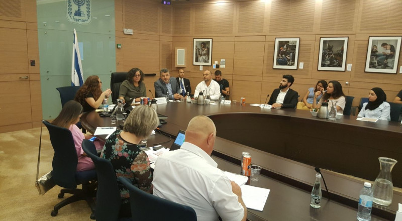 النائب مسعود غنايم يشارك في جلسات يوم اللغة العربية في الكنيست