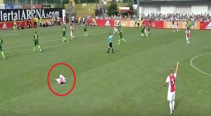 لاعب مغربي  يتعرض لأزمة قلبية أثناء المباراة