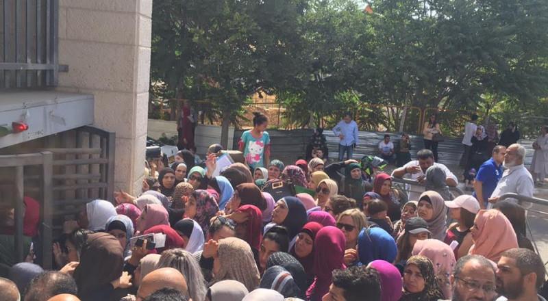 مطالبة بتحسين أوضاع الخدمات في مكتب الداخلية الاسرائيلية في القدس