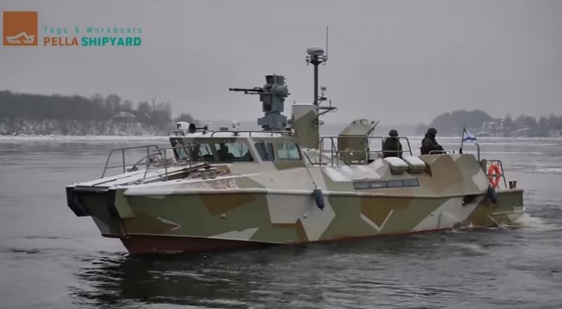 قوارب حربية روسية جديدة في البحرية السورية