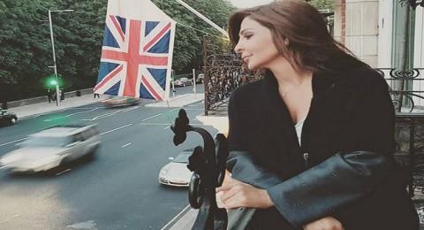 إليسا تنشر صور أجازتها في لندن