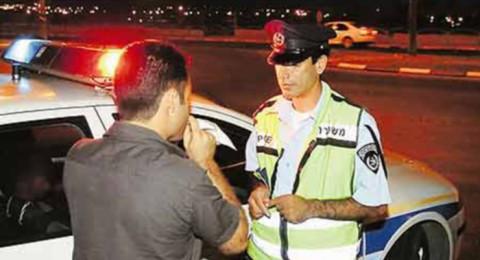 ايقاف سائقين ضبطوا للمرة الثانية تحت تأثير الكحول