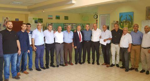 المدير العام للوزارة شموئيل ابواب يتفقّد جهاز التّعليم في الوسط العربي والبدوي
