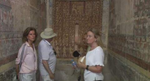 مصر تفتح مقبرة عمرها 4 آلاف عام للجمهور
