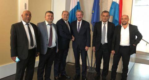 النائب يوسف جبارين يستنكر عقد اجتماع للمستوطنين في البرلمان الأوروبي