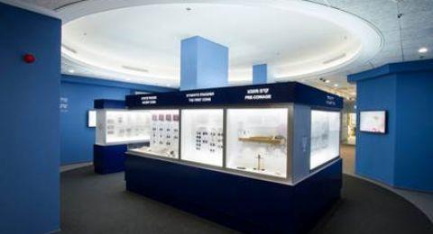 مركز الزوار في بنك إسرائيل في تل أبيب يفتح أبوابه للعائلات والزوار في فترة عيد العرش