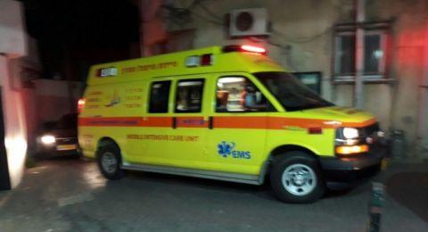 يافا: اصابتان، حرجة وخطرة، بإطلاق عيارات نارية