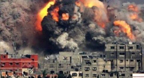 قصف اسرائيلي مرصدين لحماس شرق وجنوب قطاع غزة