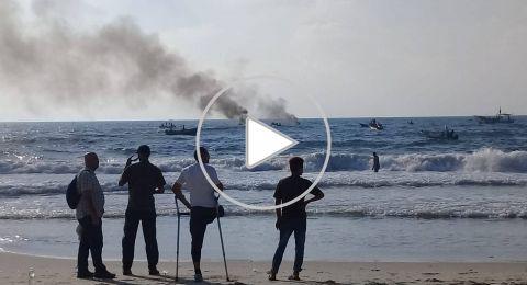 إصابات بقمع الاحتلال للمسير البحري السابع لكسر الحصار عن قطاع غزة