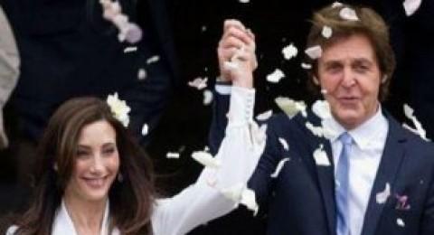 عضو فرقة البيتلز بول ماكارتني يتزوج للمرة الثالثة