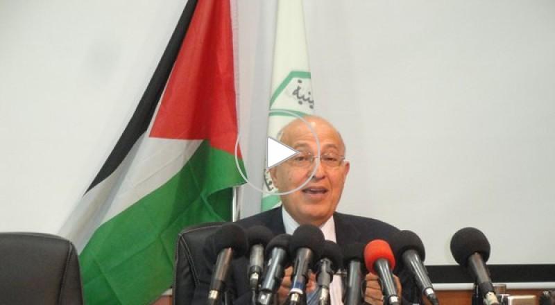 شعث يتحدث عن البدائل الفلسطينية ويؤكد أن خطاب عباس استند لرؤية فتح وموقف حماس معيب