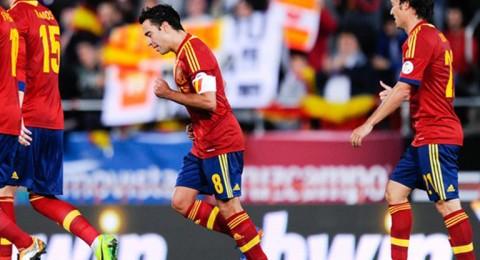 إسبانيا تسحق روسيا البيضاء والسويد تتعادل مع الجبل الأسود وسويسرا تحقق انتصارا ساحقا