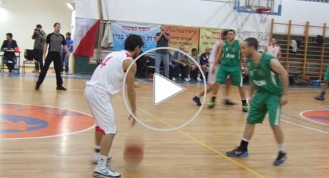 فريق كرة السلة قلنسوة يفوز على مكابي حيفا 85-73