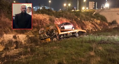 كفرقاسم: انفجار مركبة تؤدي إلى مصرع رامي ابو جابر (25 عاما)