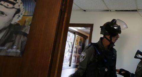 الجيش الإسرائيلي يقتحم مقر وكالة وفا