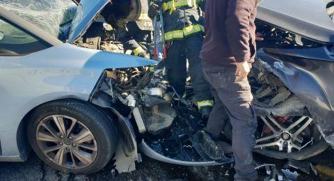 إصابات خطيرة بينها لطفلة بحادث طرق مروع قرب بيت لحم
