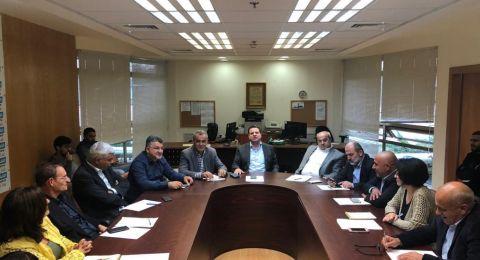 غداً الخميس القائمة المشتركة تزور بلدية الناصرة ومجلس دبورية المحلي ضمن برنامج عملها الميداني