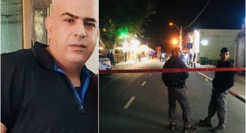 يافا جريمة اخرى .. الاعلان عن وفاة  اشرف ابو قاعود (43 عاما)  المصاب بعيار ناريّ