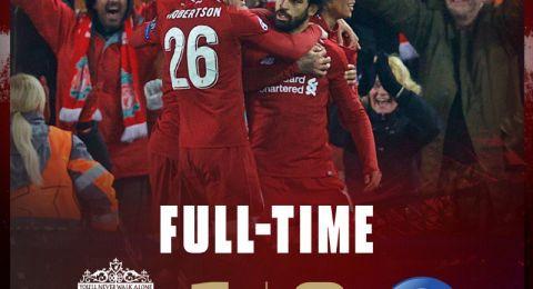 دوري أبطال أوروبا: ليفربول ينتزع التأهل بإسقاط نابولي
