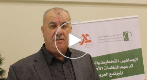 محمد بركة لبكرا: الناصرة تختنق، ولا يعقل انه لم يتم انشاء بلد عربية واحدة خلال سبعون عاما