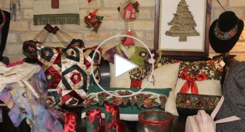افتتاح معرض مميز لدعم الفن والحرفية في الناصرة بمناسبة الميلاد المجيد