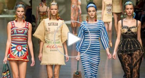 Dolce & Gabbana تعرض لربيع 2013