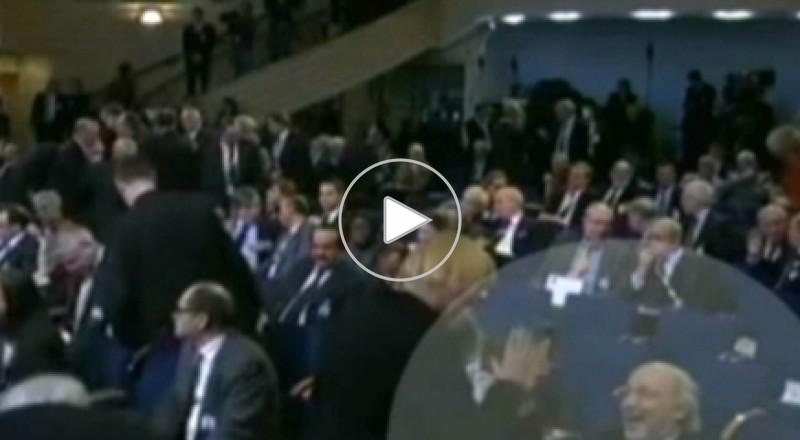 مصافحة حميمية بين سفير إيراني وامرأة تثير ضجة