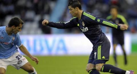 فوز صعب لريال مدريد على سيلتا فيغو 2-1